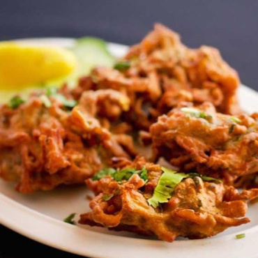 Onion & Spinach Bhaji (3PCS) (V)