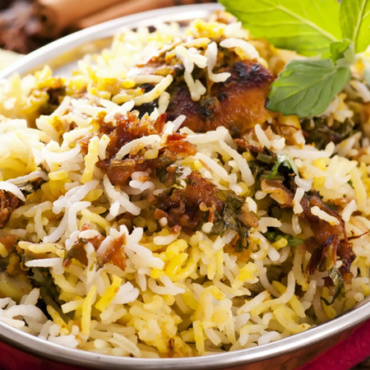 Dum Vegetable Biryani (GF)