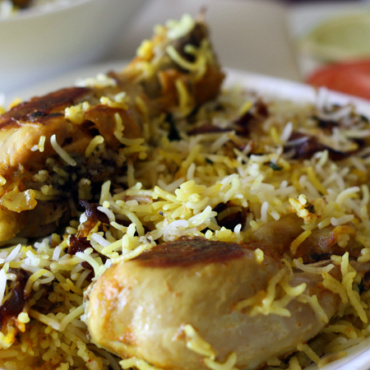 Dum Chicken Biryani (GF)