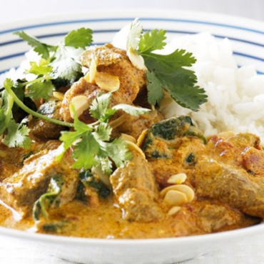 Spinach Lamb Curry (GF)
